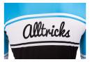 Alltricks Short Sleeves Jersey Vintage Blue