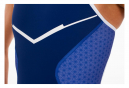 ZEROD Racer Trisuit Blue White