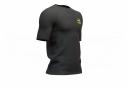 Maillot Manches Courtes Compressport Training Shirt Black Edition 2019 Noir Homme