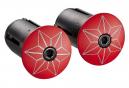 Ruban de Cintre Supacaz Super Sticky Kush Rouge/Noir avec Bouchons
