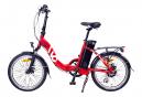 Vélo Pliant électrique Voltagreen Lavil 20'' Shimano Altus 7V Rouge