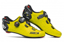 Chaussures Route Sidi Wire 2 Carbon Jaune Fluo