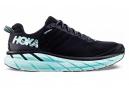 Chaussures de Running Femme Hoka One One Clifton 6 Noir / Bleu