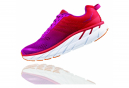 Chaussures de Running Femme Hoka One One Clifton 6 Rose / Rouge