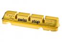 x4 Cartouches de Patins de Frein SwissStop FlashPro Yellow King Pour Jantes Carbone Pour Freins Shimano / Sram / Campagnolo