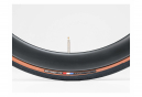 Neumático de carretera Bontrager R3 Hard-Case Lite Tubeless Ready Plegable Negro Beige