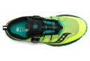 Chaussures de Trail Saucony Switchback ISO Jaune / Vert