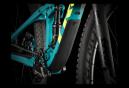 VTT Tout Suspendu 2020 Trek Top Fuel 9.8 29'' Sram GX Eagle Noir/Turquoise