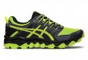 Chaussures de Trail Asics Gel Fujitrabuco 7 Vert / Jaune