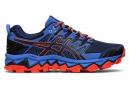 Chaussures de Trail Asics Gel Fujitrabuco 7 Bleu / Orange