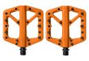 Paire de Pédales Plates Crankbrothers STAMP 1 Orange