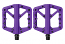 Paire de Pédales Plates Crankbrothers STAMP 1 Violet