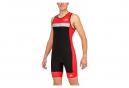 Tri-Functions Sleeveless Kiwami PRIMA 2 RACE Black Red Suit