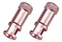 Paire de Bouchons Démonte-Obus Granite Design Juicy Nipple Presta Rose