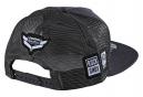 Troy Lee Designs Sram TLD Racing Block Trucker Cap Snapback Dark Charcoal Grey
