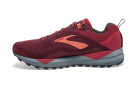 Chaussures de Trail Femme Brooks Running Cascadia 14 Rouge / Rouge
