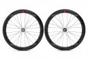 Par de ruedas Fulcrum Wind 55 Carbon Disc | 12x100 - 12x142 mm | cierre central