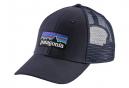 Casquette PATAGONIA P-6 Logo LoPro Trucker Bleu