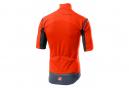 Giacca manica rimovibile Castelli PERFETTO RoS arancione