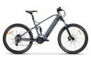 VTT Electrique Tout Suspendu Moma Bikes E-MTB 27.5'' Shimano Altus 8V Gris