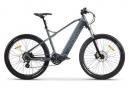 Moma Bikes Bicicleta Electrica, EMTB-27.5 ', Suspension Delantera, SHIMANO 24 V & Doble Freno Disco Hydraulicos Bateria Integrada Ion Litio 48V 13Ah