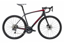Vélo de Route Trek Emonda SLR 7 Disc Shimano Ultegra Di2 11V 2020 Noir / Rouge