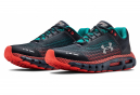 Chaussures de Running Under Armour HOVR Infinite Gris / Bleu / Rouge
