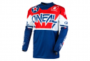 Maillot Manches Longues O'Neal Element Warhawk Bleu / Rouge