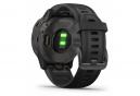 Garmin fenix 6S Sapphire GPS Watch Carbon Grey DLC with Black Band