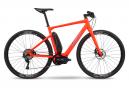 Vélo de Ville Électrique Fitness BMC Alpenchallenge AMP Cross Two Shimano SLX 11V Rouge 2020