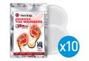 Lot de 10 Paquets de Chaufferettes pour Orteils Yaktrax Adhesive Toe Warmers 5 Heures