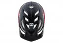 Casco de MTB Troy Lee Designs A1 Classic Sram Mips Negro Mate Rojo