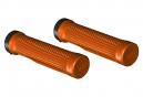 Pair of Orange One-Lock Grips