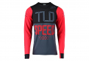 Maillot de manga larga Troy Lee Design Skyline Speed Shop Rojo Negro