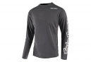 Maillot Manches Longues Troy Lee Designs Sprint Solid Gris