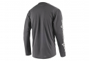 Troy Lee Designs Sprint Solid Long Sleeve Jersey Charcoal Grey