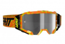 Masque Leatt Velocity 5.5 Orange Fluo - Ecran gris clair 58%