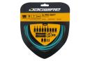 Jagwire 2x Pro Shift Kit Celeste Blue