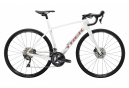 Vélo de Route Trek Domane SL 6 Shimano Ultegra 11V 2020 Blanc / Or