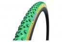 Michelin Power Cyclocross Mud Tubular 700 mm HD Protección de grano a cordón Látex Verde