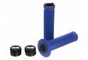 Poignées ODI Ruffian Lock-On 143mm Bleu / Noir