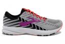 Chaussures de Running Femme Brooks Running Launch 6 Gris / Rouge