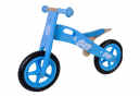 Draisienne en bois vélo sans pédale fille bleu nuages