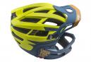 URGE Gringo de la Pampa Helmet with Removable Chinstrap Lime / Blue