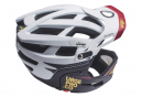 URGE Gringo de la Sierra Helmet with Removable Chinstrap White / Black