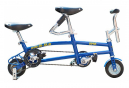 Mini Tandem Qu-Ax 6  Bleu