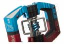 Paire de pédales Automatiques avec Cage Crankbrothers Mallet Enduro LS Rouge / Bleu by Alltricks