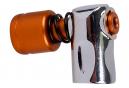 Zéfal EZ Big Shot CO2 Inflator Bronze Silver + 16 g Cartridge