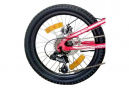 VTT 20'' Tout Suspendu Garçon ''Atlas'' Double Freins à Disque - 6 vitesses - Potence Head set - Shimano