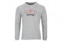 Sweatshirt Marcel Pignon ''Good Morning'' Gris